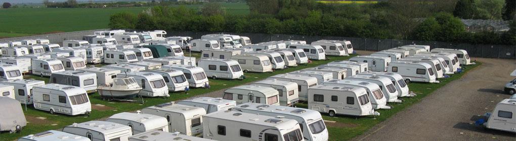 Find secure caravan storage across the UK