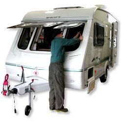Caravan maintenance - caravan storage