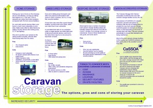 Secure Caravan Storage - CaSSOA caravan storage