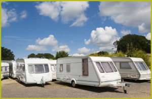 New and used caravans