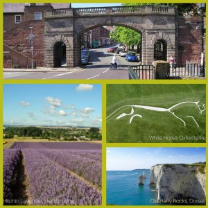 Things to Do - England - Chester - Dorset - Oxfordshire