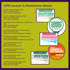 2019 Caravan Shows