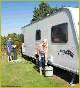 caravan water system maintenance
