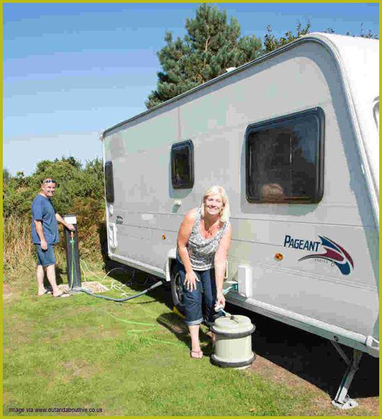 caravan water system maintenance