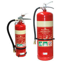 Fire Extinguishers - Caravan Fire Safety
