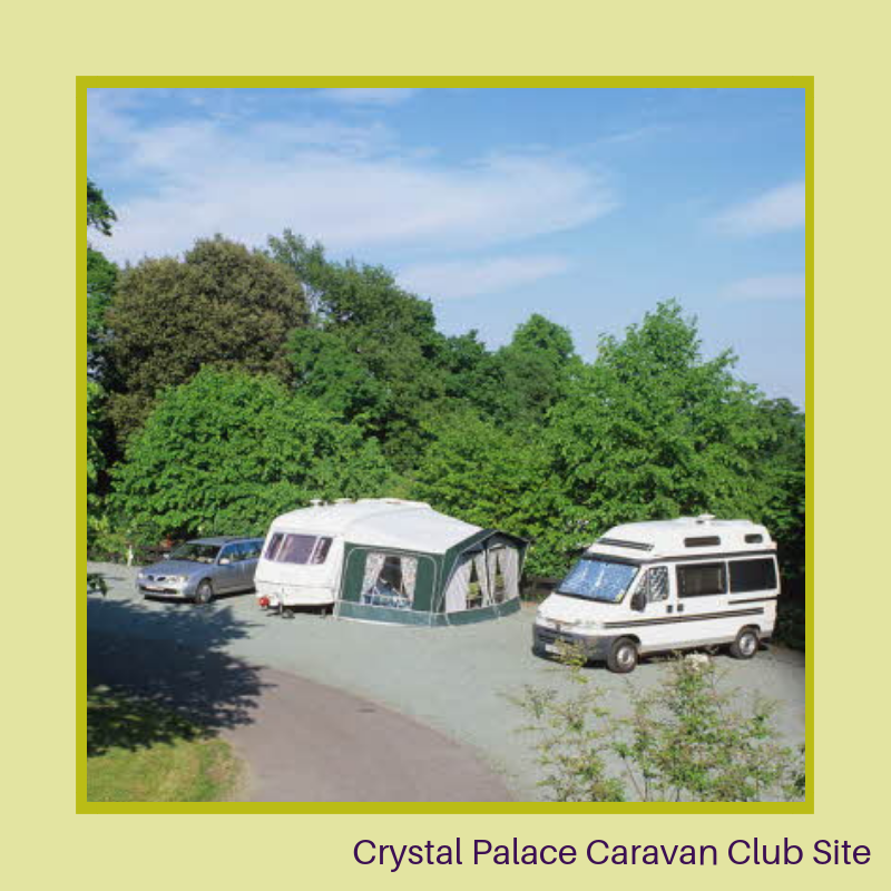 Crystal Palace Caravan Club Site - Caravan Site London