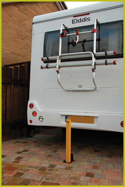 caravan hitch post