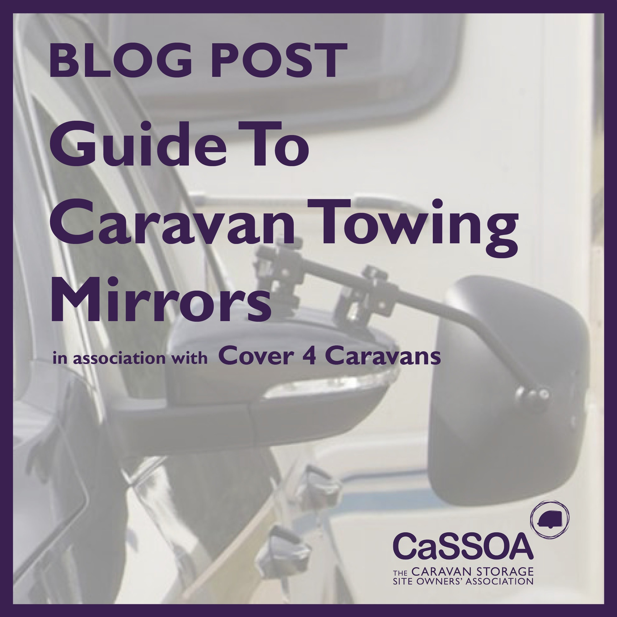 Cover 4 Caravans - Towing Mirrors