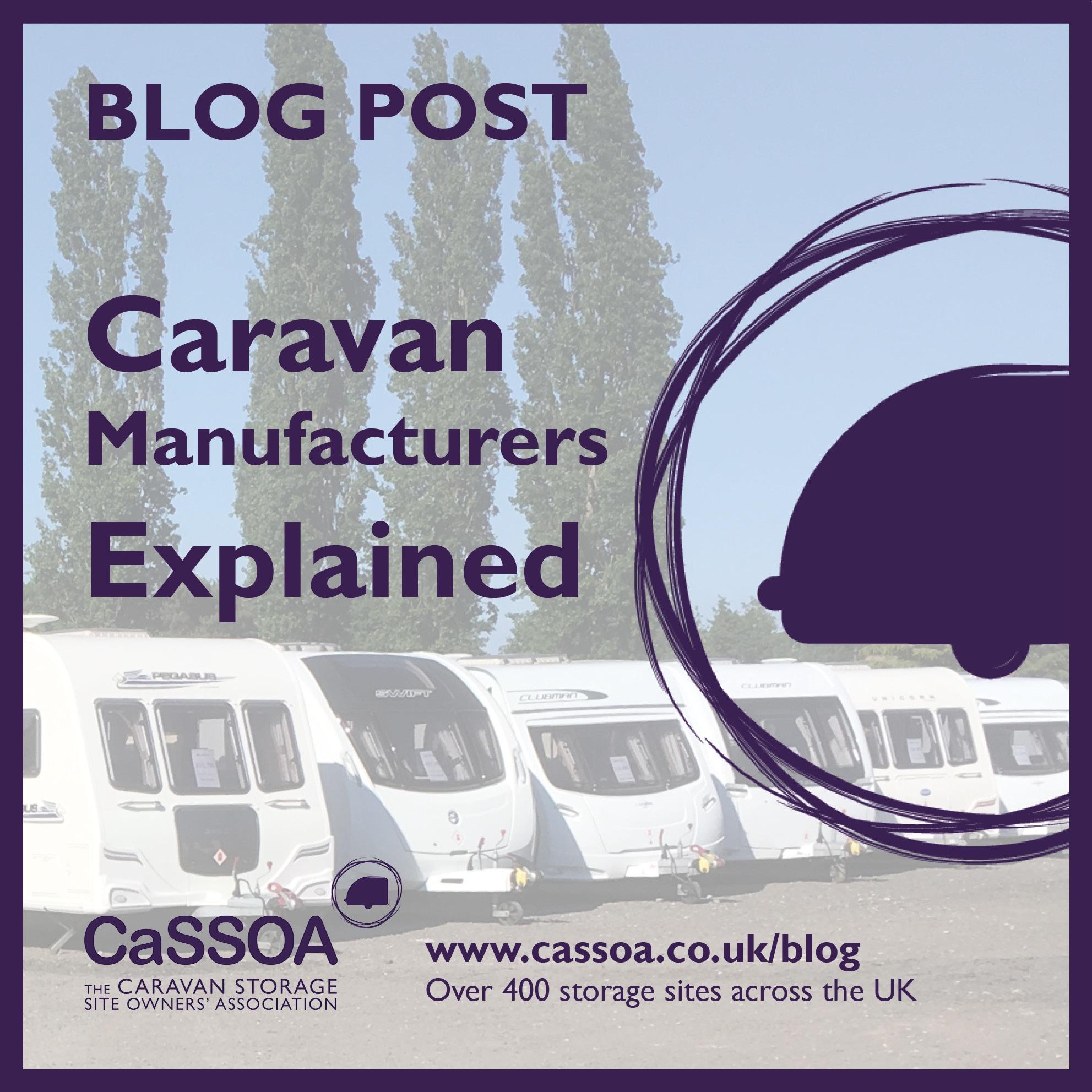 Caravan Manufacturers
