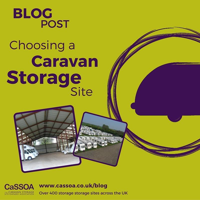 Choosing A Caravan Storage Site
