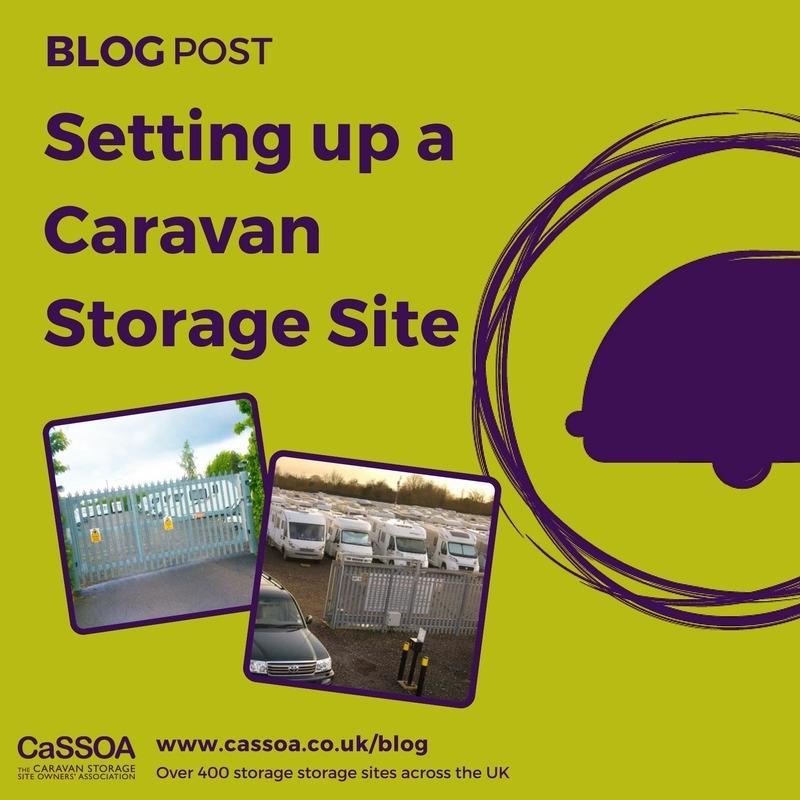 Setting up a Caravan Storage Site