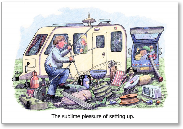 caravan manners